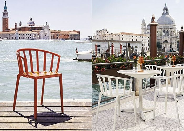 Sedia Mod Venice By Kartell Spicologo Maurizio Rabuffi